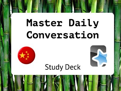 Daily Conversation Deck